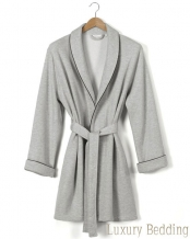 Халат унисекс Corin Soft Knitted Robe (Корин Софт Ниттед Роуб) (S; M; L; XL) Серый от Casual Avenue