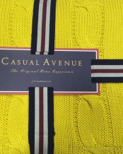 Плед Messina 130х170 Золото от Casual Avenue